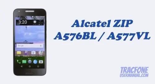 TracFone Alcatel ZIP LTE