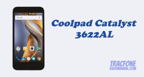 TracFone Coolpad Catalyst 3622AL