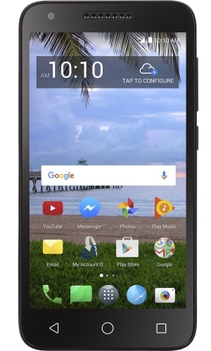 TracFone Alcatel Raven LTE A574BL Review, Specifications and