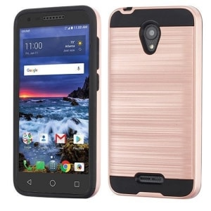 Alcatel Raven Silicon Hard Case by NP ARMOR