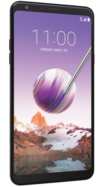 TracFone LG Stylo 4 Side View