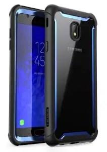 Galaxy J7 Crown Clear Bumper Case by i-Blason