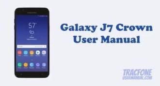 Samsung Galaxy J7 Crown User Manual (TracFone)
