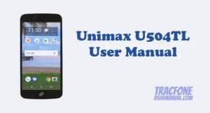 Unimax U504TL User Manual (TracFone)