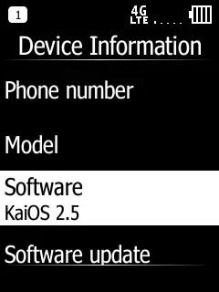 Doro 7050 Software Info