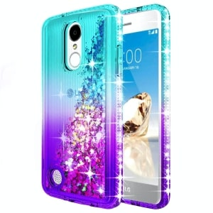 LG Rebel 4 Glitter Liquid Case by NageBee