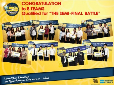 Singha English Challenge : Semi Final Battle