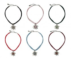 Halskette Edelweiß