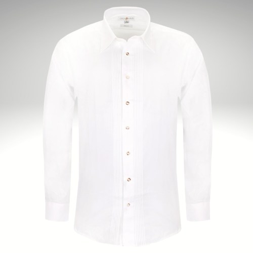 Trachtenhemd weiß