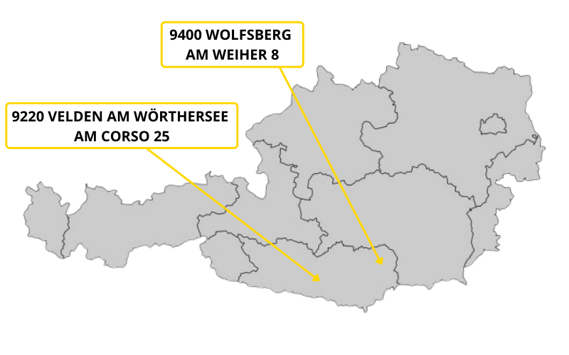 Trachten Kaiser Standorte