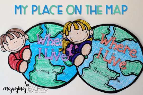 Where I Live - My Place on the Map