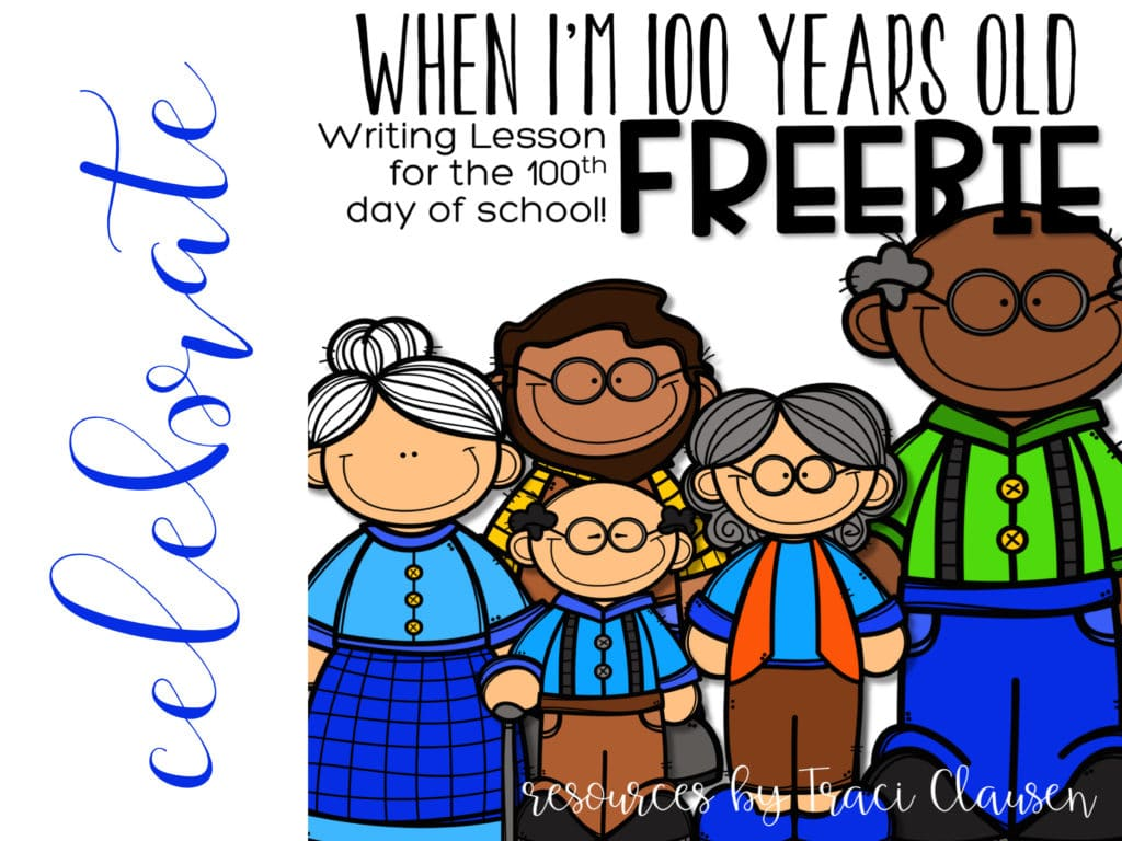 100th Day Of School Activity Traci Clausen
