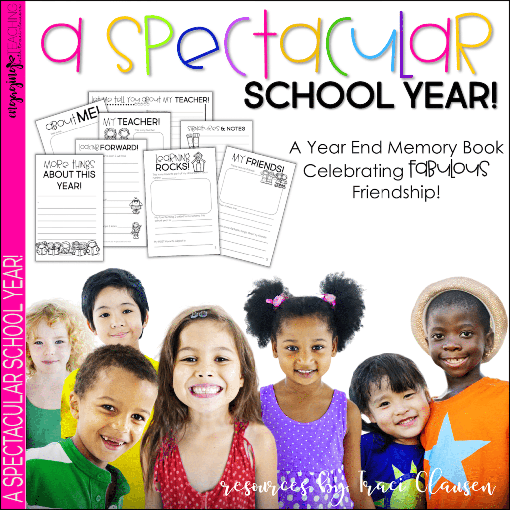Spectacular School Year - Resources by Traci Clausen