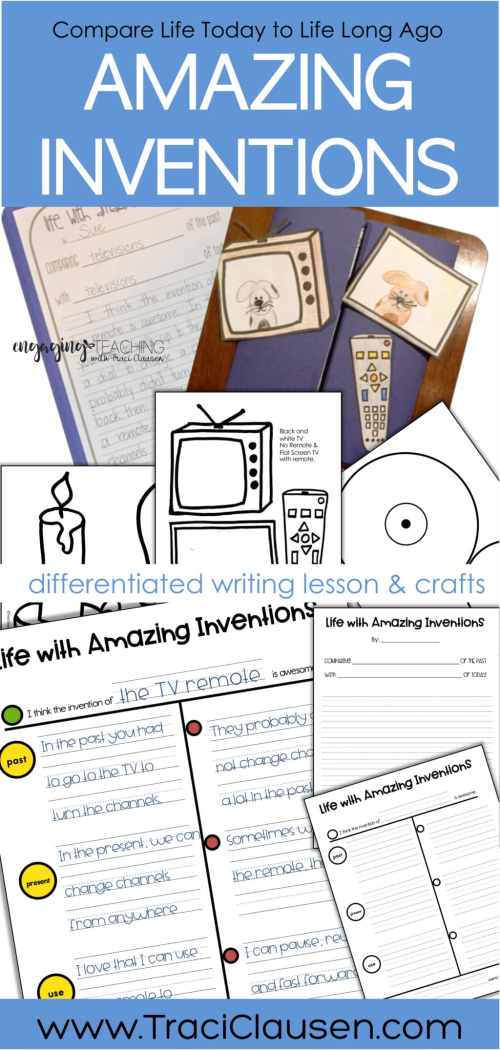 invention writing lesson