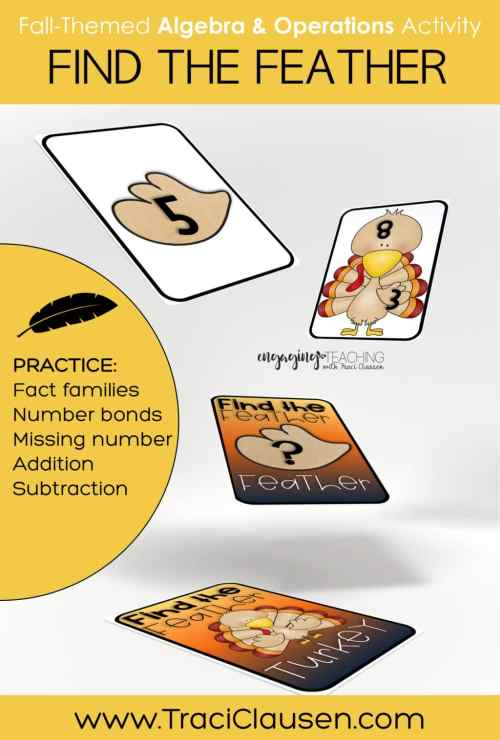 math game cards