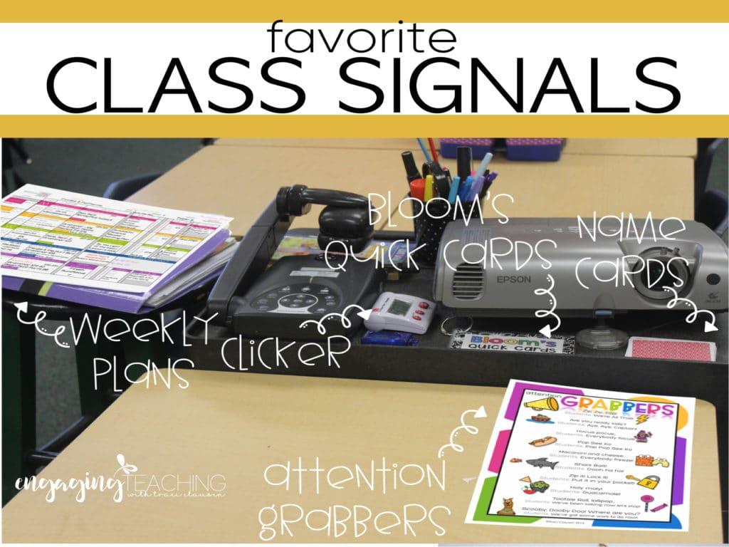 Favorite Class Signals