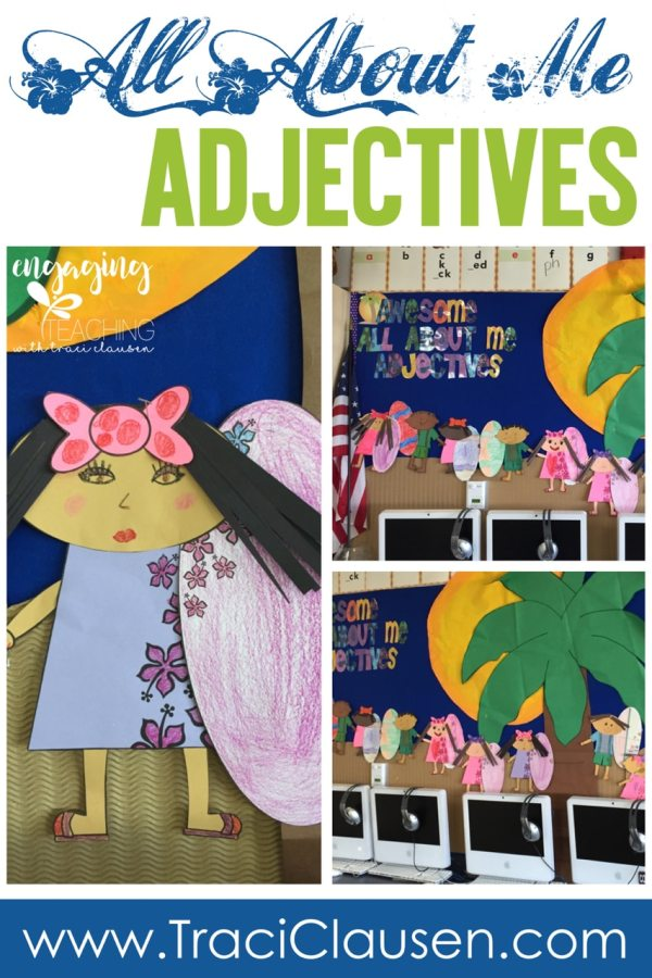 All About Me Adjectives Samples