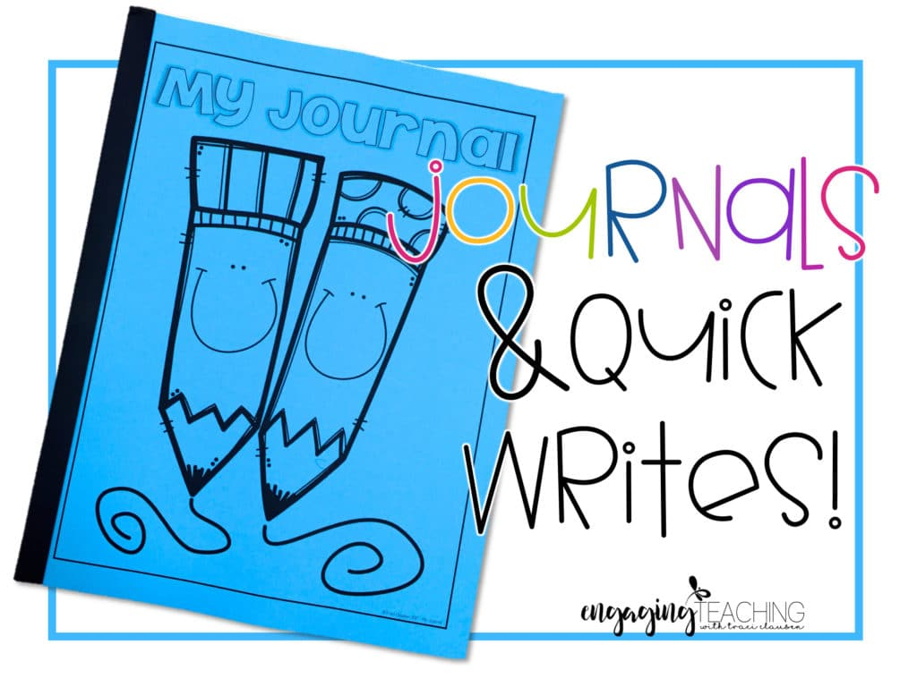 Quick-Writes – Easy Journal Activities