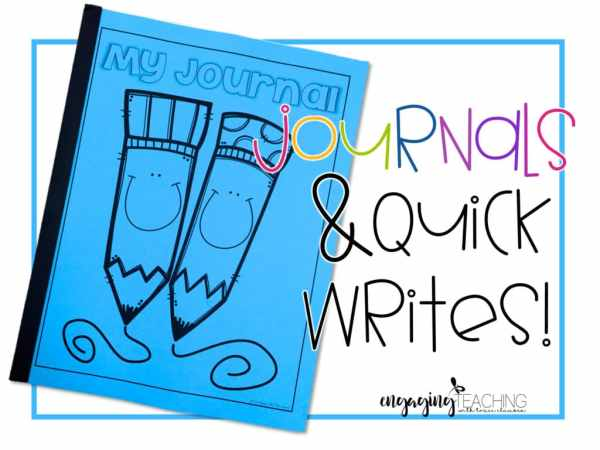 Journal Quick Writes
