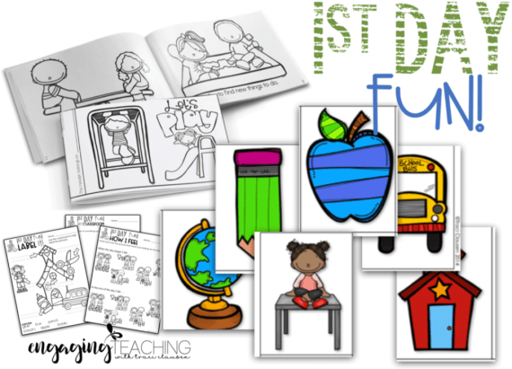 Back to School - 1st Days Activities
