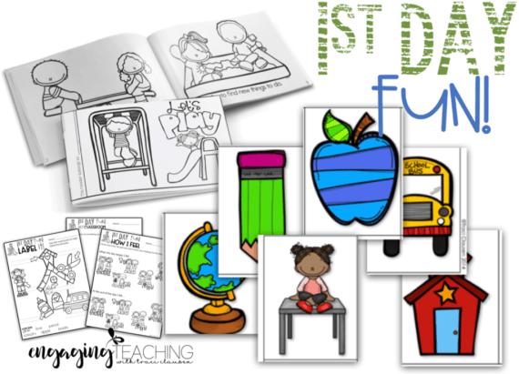 Back to School - 1st Days Activities