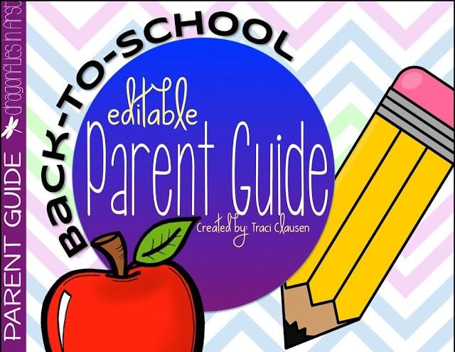 Keeping Parents Informed – Editable FREEBIE
