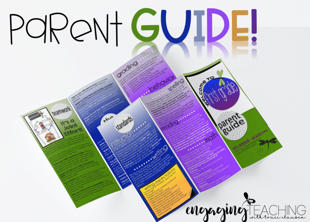 Keeping Parents Informed – Editable FREEBIE