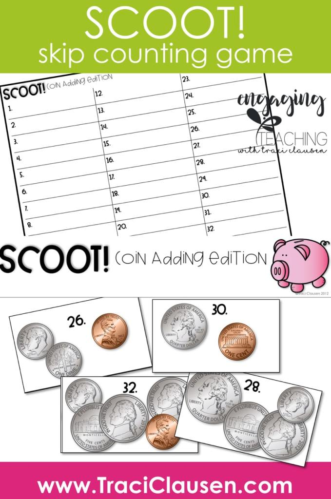 Scoot! Coin adding game