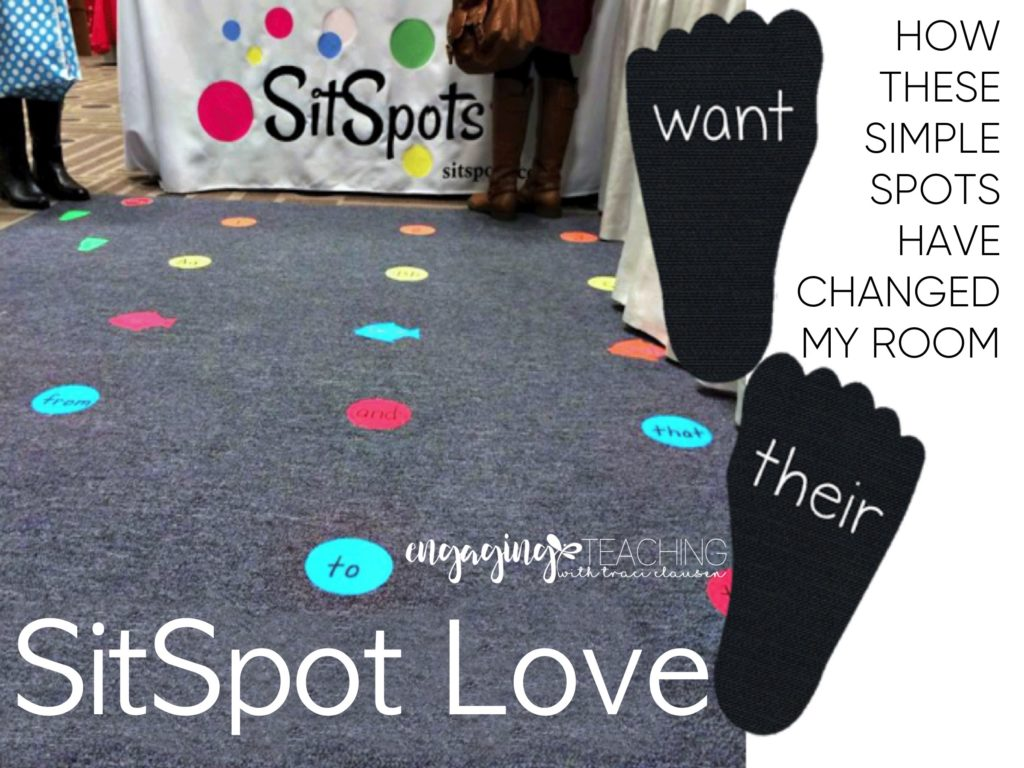 SitSpots – An AMAZING Classroom Rug and Management Tool!
