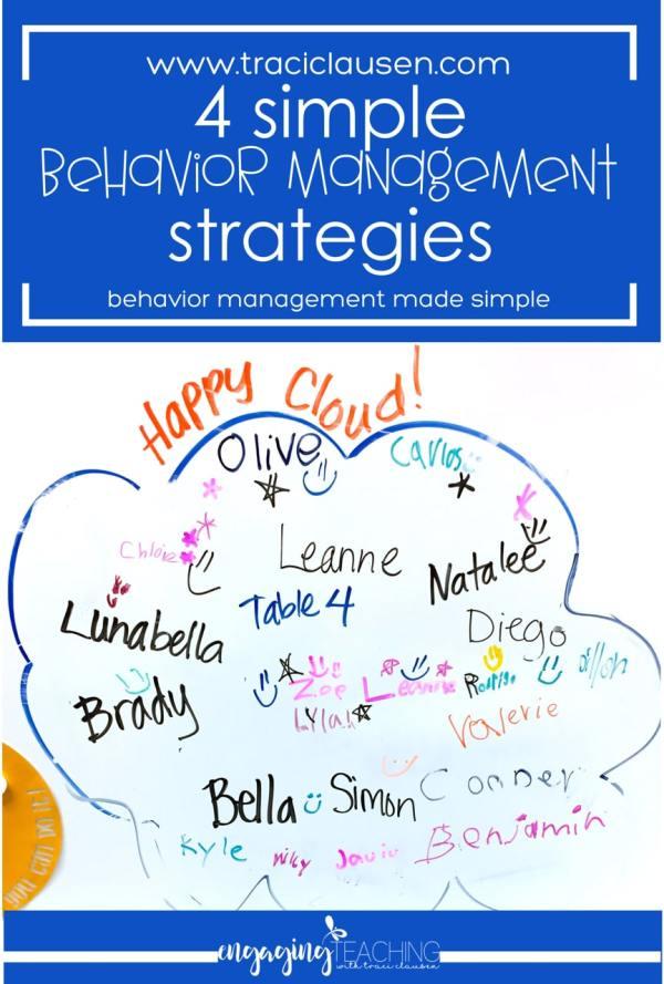 Behavior Management Happy Cloud