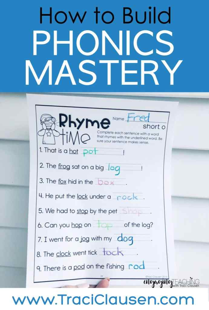 Rhyme Time Activity