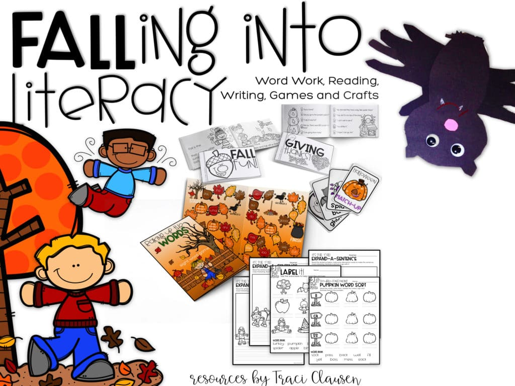 Falling Into Literacy Resource Parts