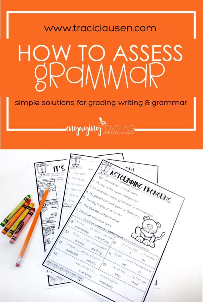 How to Assess Writing & Grammar