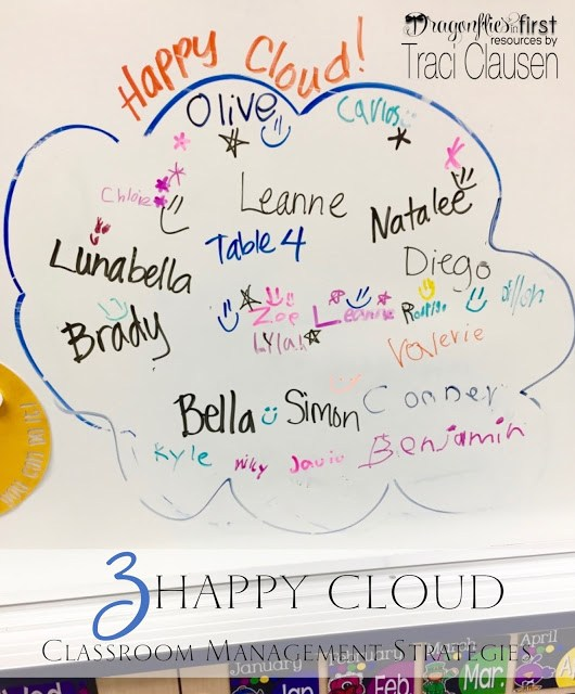 Happy cloud classroom management - engagingteaching.com