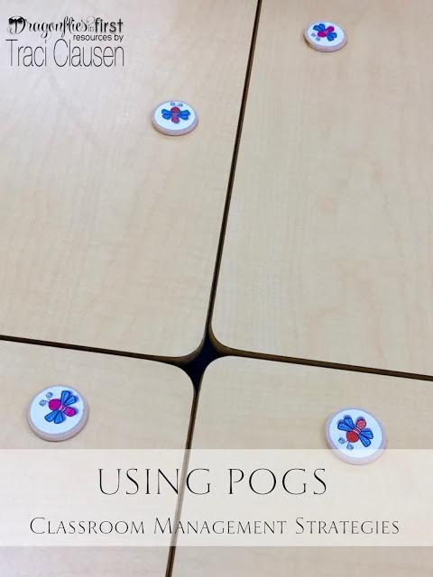 Using pogs for classroom management, engagingteaching.com