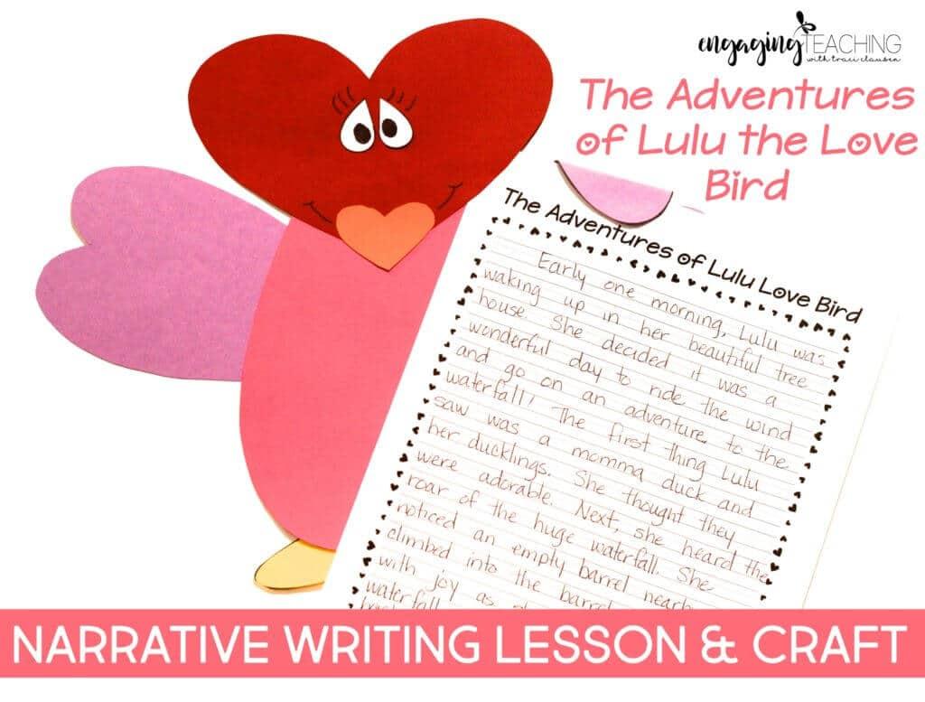 Creative Writing with Lulu the Love Bird