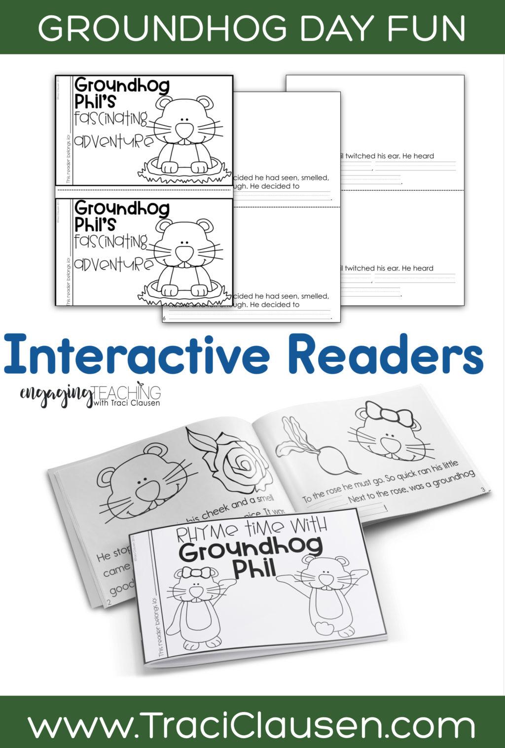 Groundhog Phil Interactive Readers