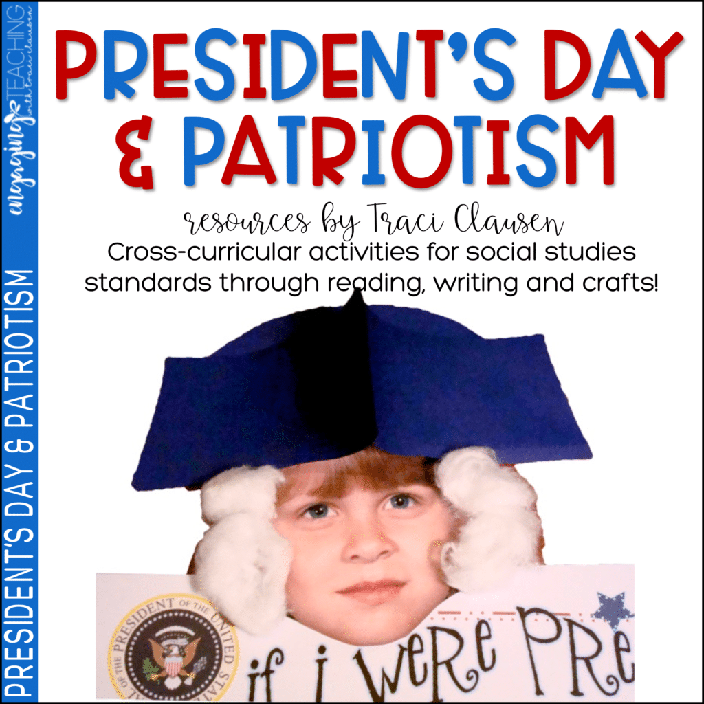 President's Day and Patriotism resource cover