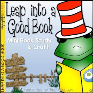 Leap Into A Good Book - Traci Clausen