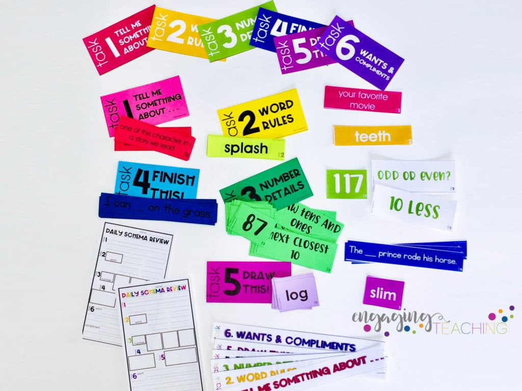 Schema Review Cards
