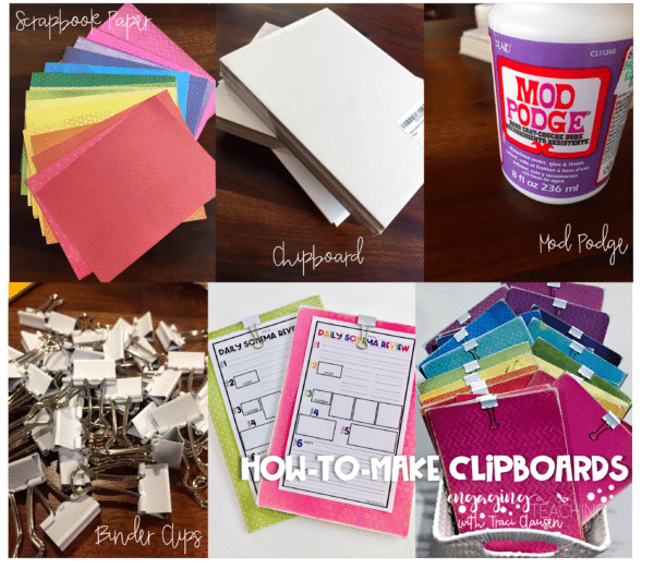 How to Make Clipboards