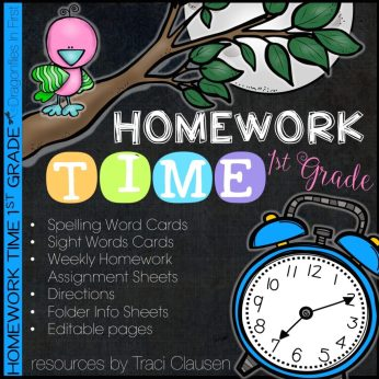 Homework Time 1st Edition