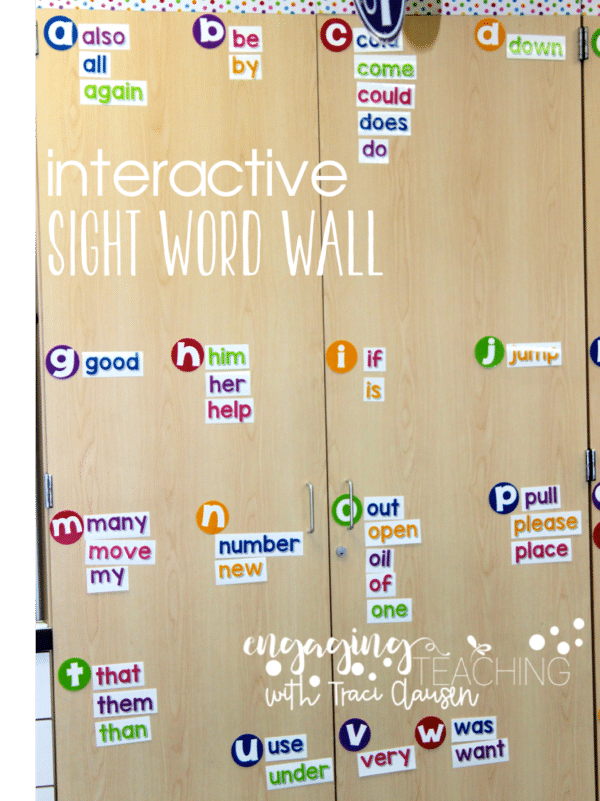Word Walls • High-Frequency / Sight Words