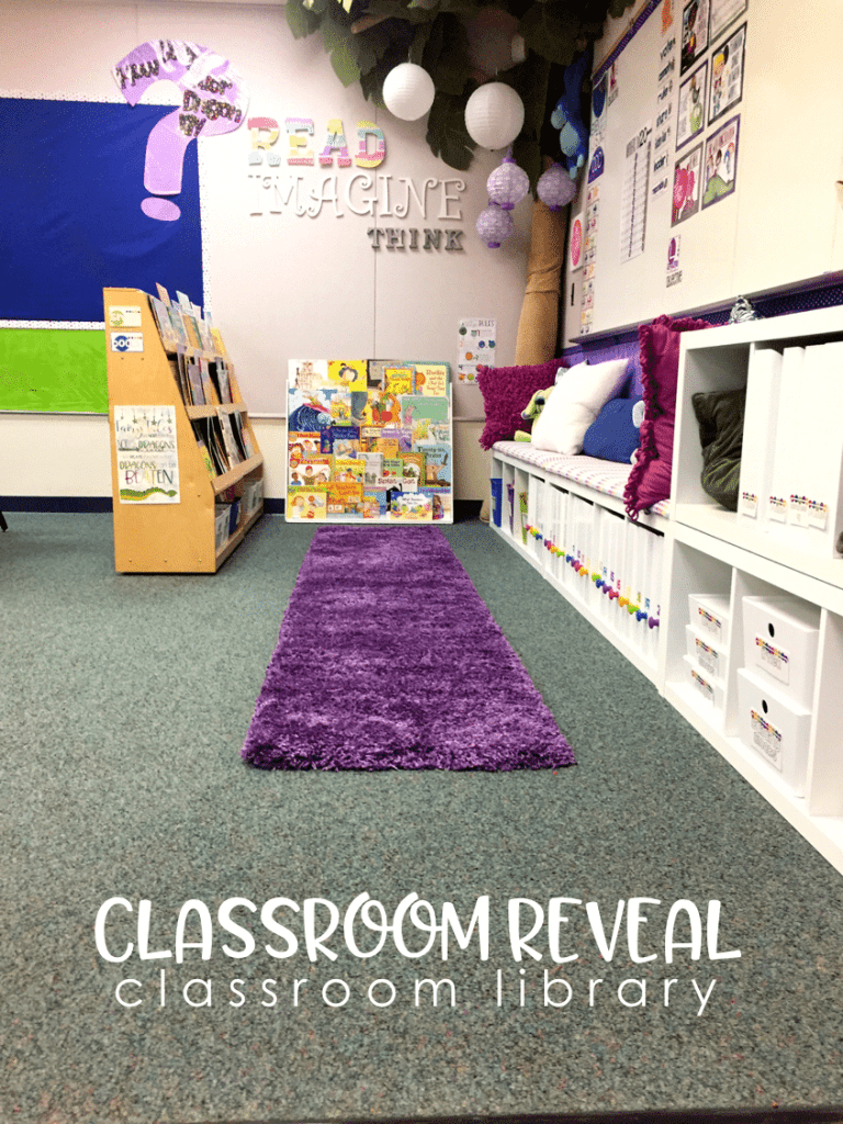 Classroom Reveal - Reading Center