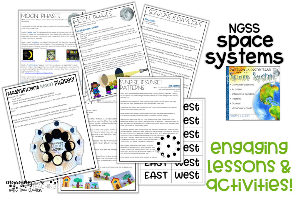 NGSS Space Systems Lessons from EngagingTeaching.com