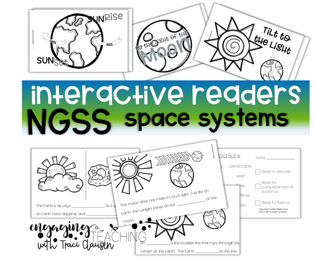 Interactive Readers NGSS Space Systems - engagingteaching.com