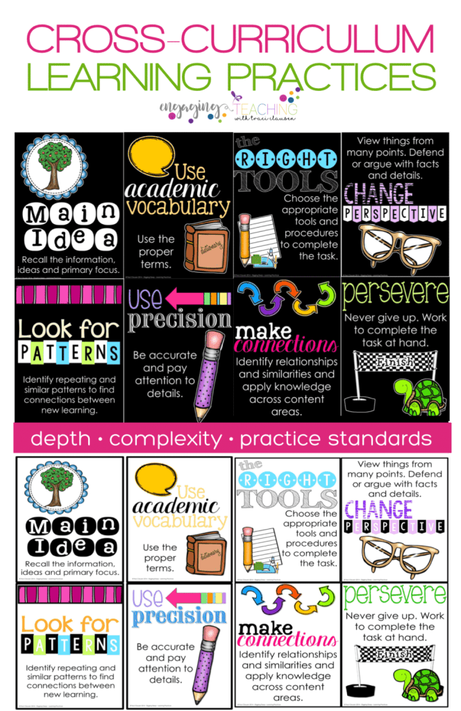 Cross Curriculum Learning Practices Posters