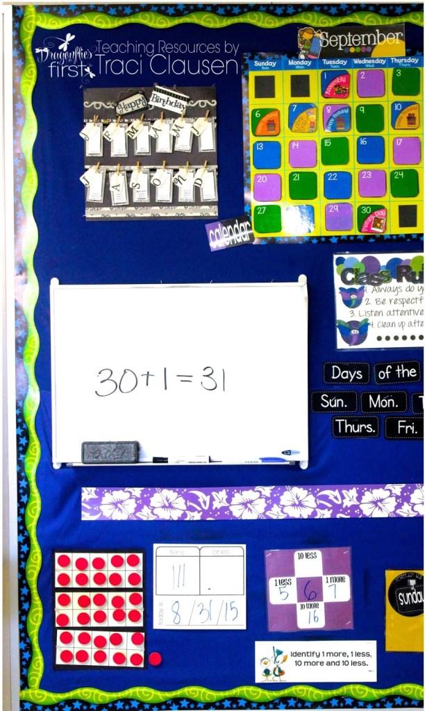 Birthday Calendar Board