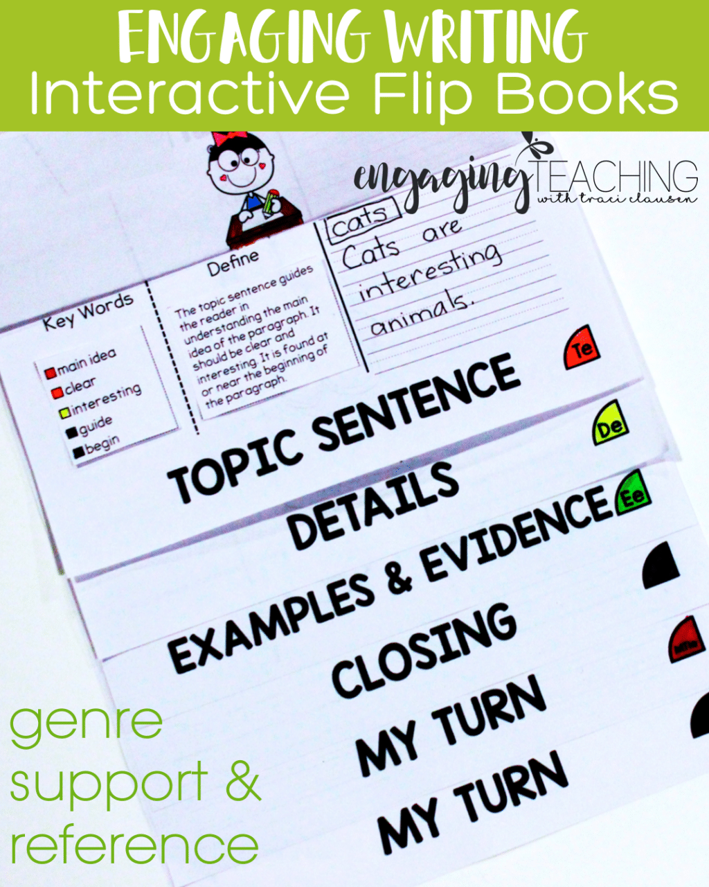 Engaging Writing Flip Book