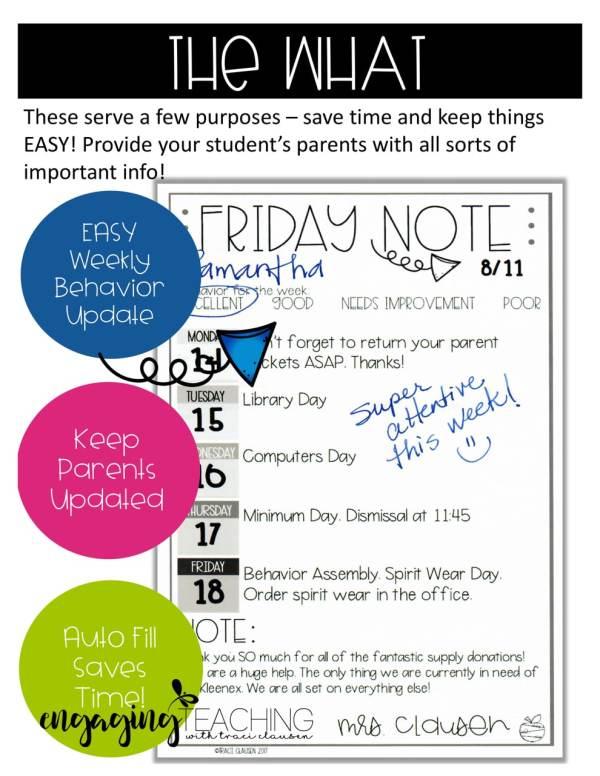 Friday Note Explained